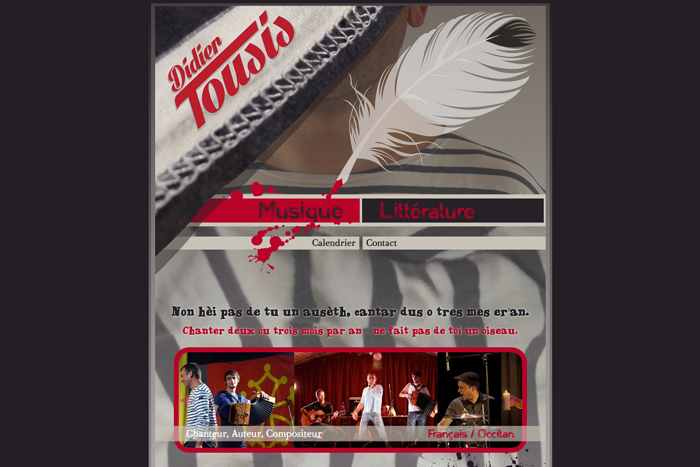 www.didiertousis.com - www.inflatabedog.com web design