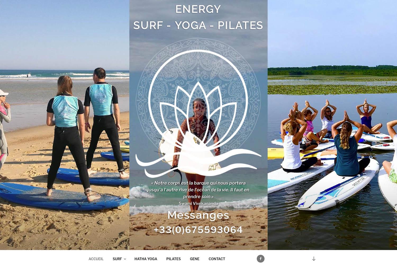 www.energysurfyoga.com - www.inflataböedog.com web design