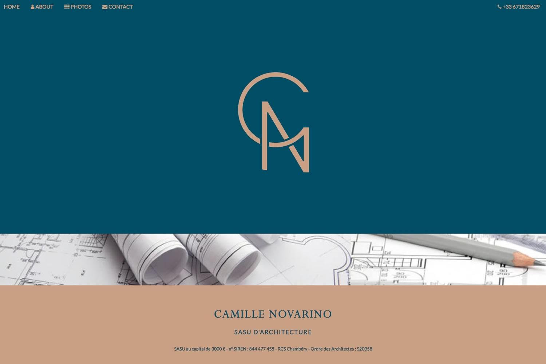 www.novarino-architecte.com- www.inflatabledog.com web design