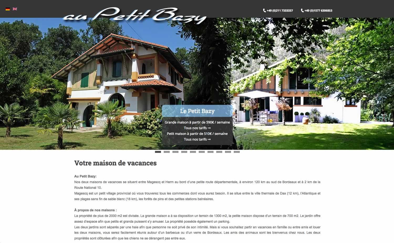 www.petitbazi.info - www.inflatabledog.com web design